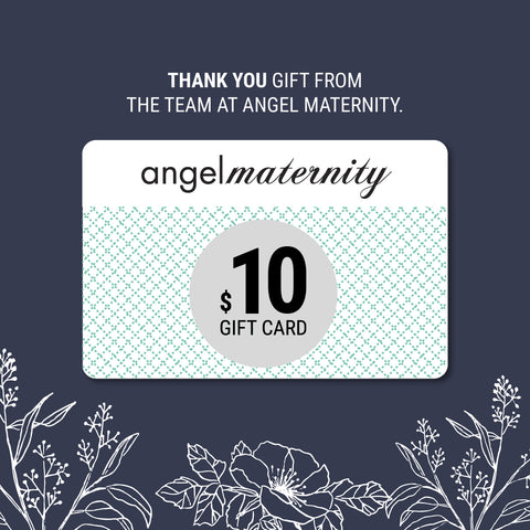 Angel Maternity Thank You Gift Card