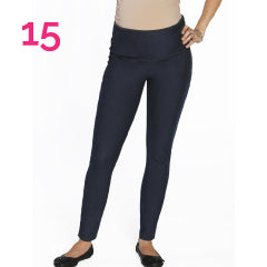 Maternity Deluxe Tummy Support Jegging in Indigo Denim