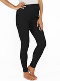 Maternity High Waist Tummy Support Jegging - Black - Angel Maternity - Maternity clothes - shop online
