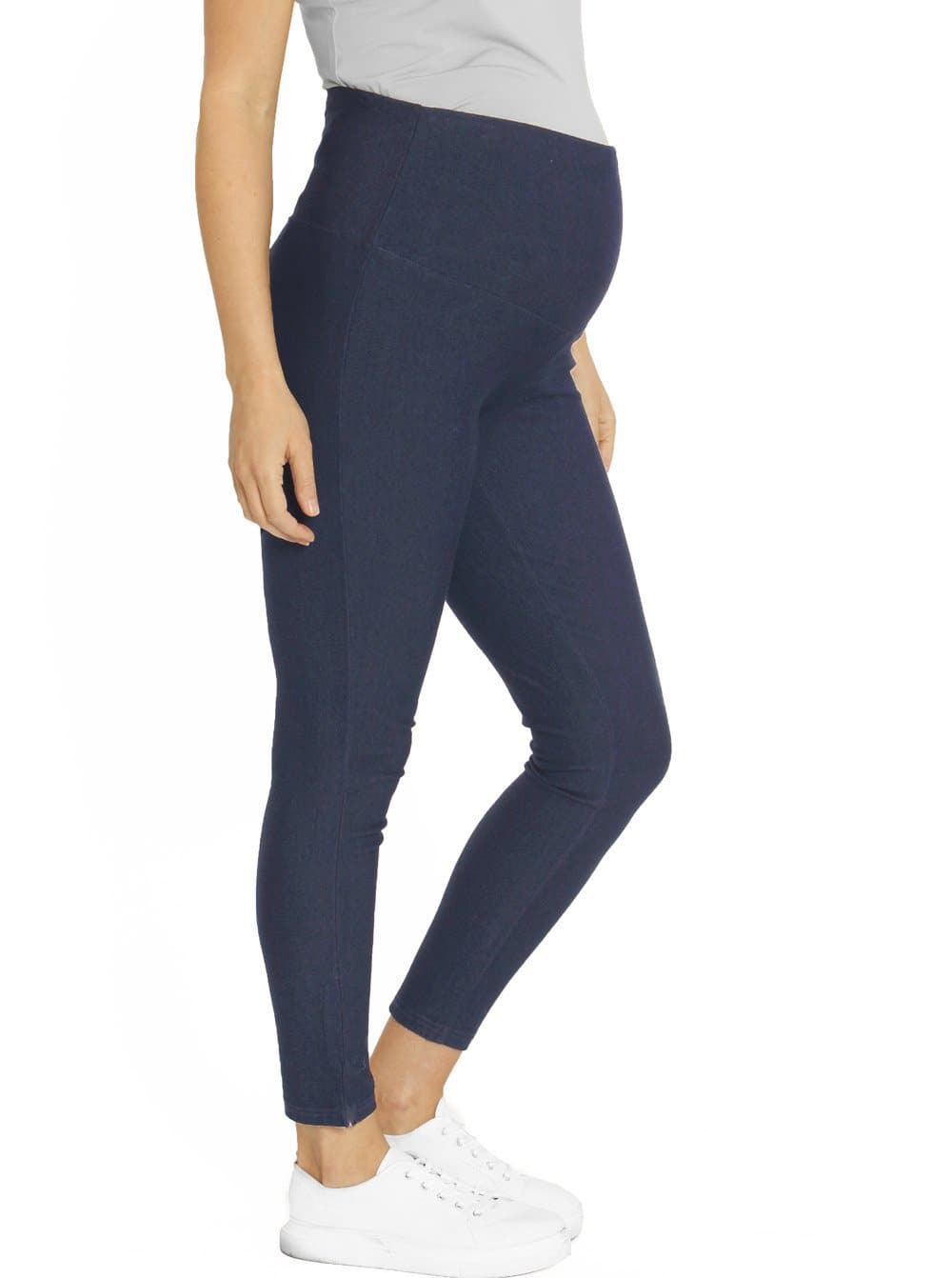 Maternity Deluxe High Waisted Jegging - Denim