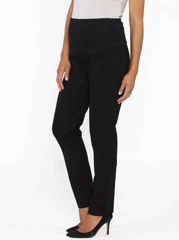 Maternity Lounge Casual Relax Fit Pant in Black