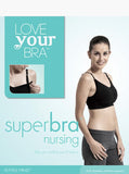 Maternity Fertile Mind Nursing Super Bra - Black