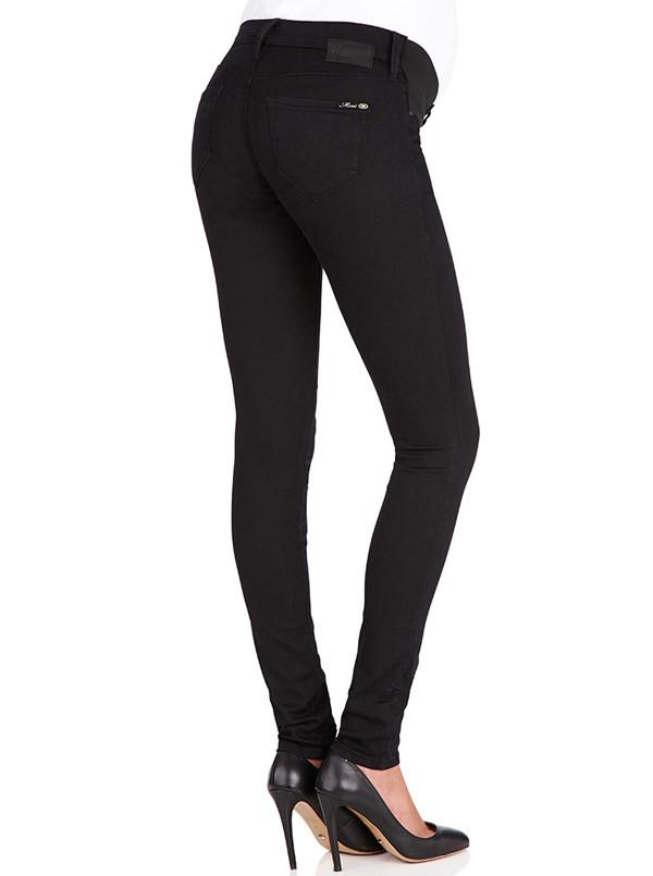 Angel Maternity Reina - MAVI Super Skinny Leg Black Jeans