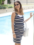Breastfeeding Basic Nursing Tank Dress