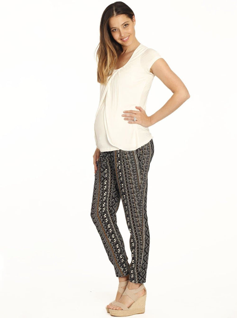 Maternity Casual Comfortable Harem Pants