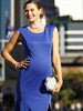 Dress To Impress Maternity Formal Party Gown - Blue - Angel Maternity - Maternity clothes - shop online