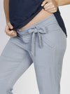 Comfortable Maternity Tencel Pants in Light Blue - Angel Maternity - Maternity clothes - shop online