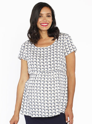 Maternity Relax Fit Summer Smock Top