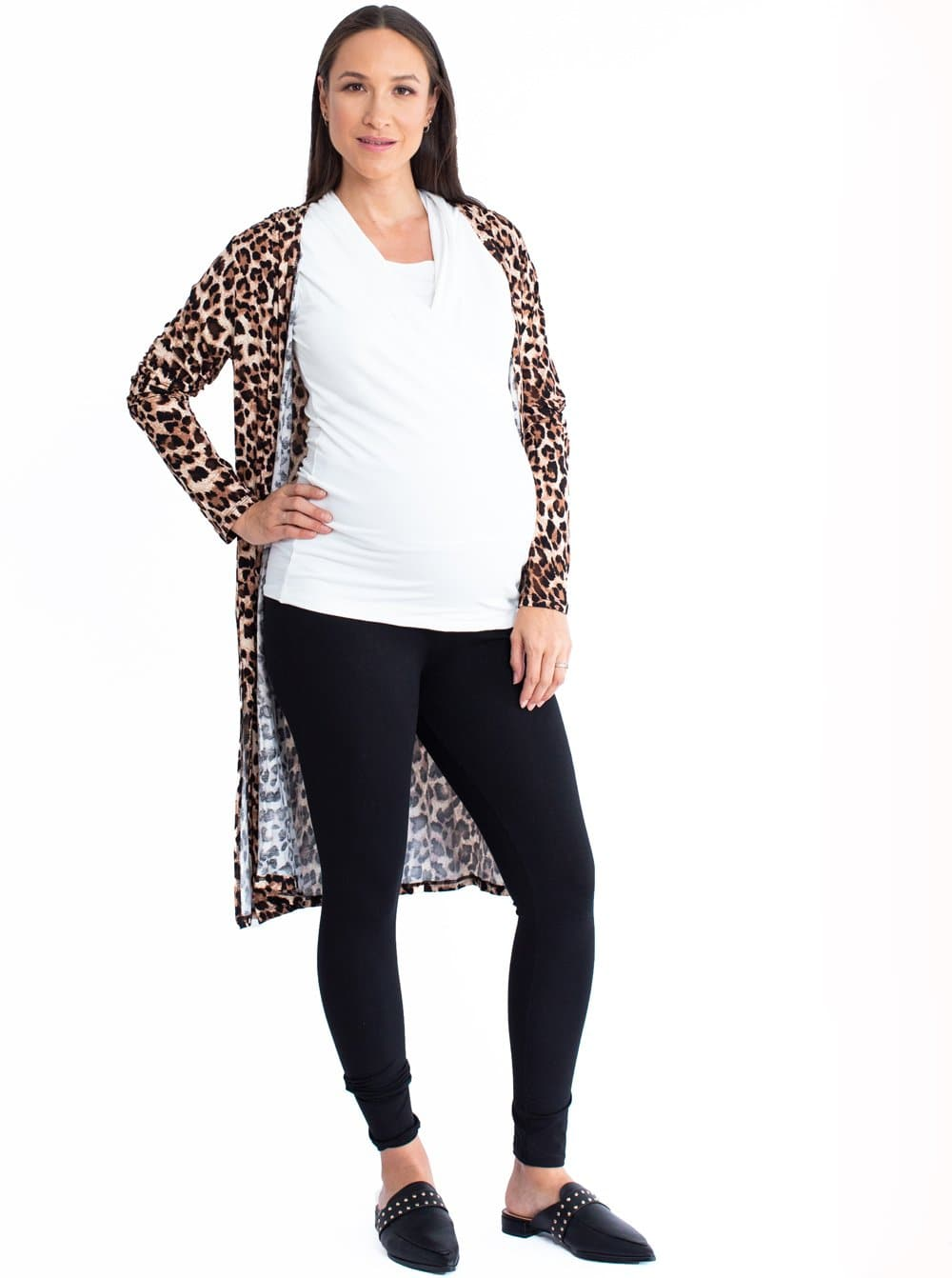 3 Piece Maternity Lounge to Work Outfit