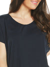 Maternity Cotton Swing Short Sleeve Tee Top