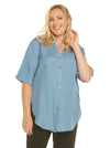 nursing linen top