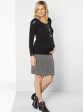 Maternity Wool Skirt