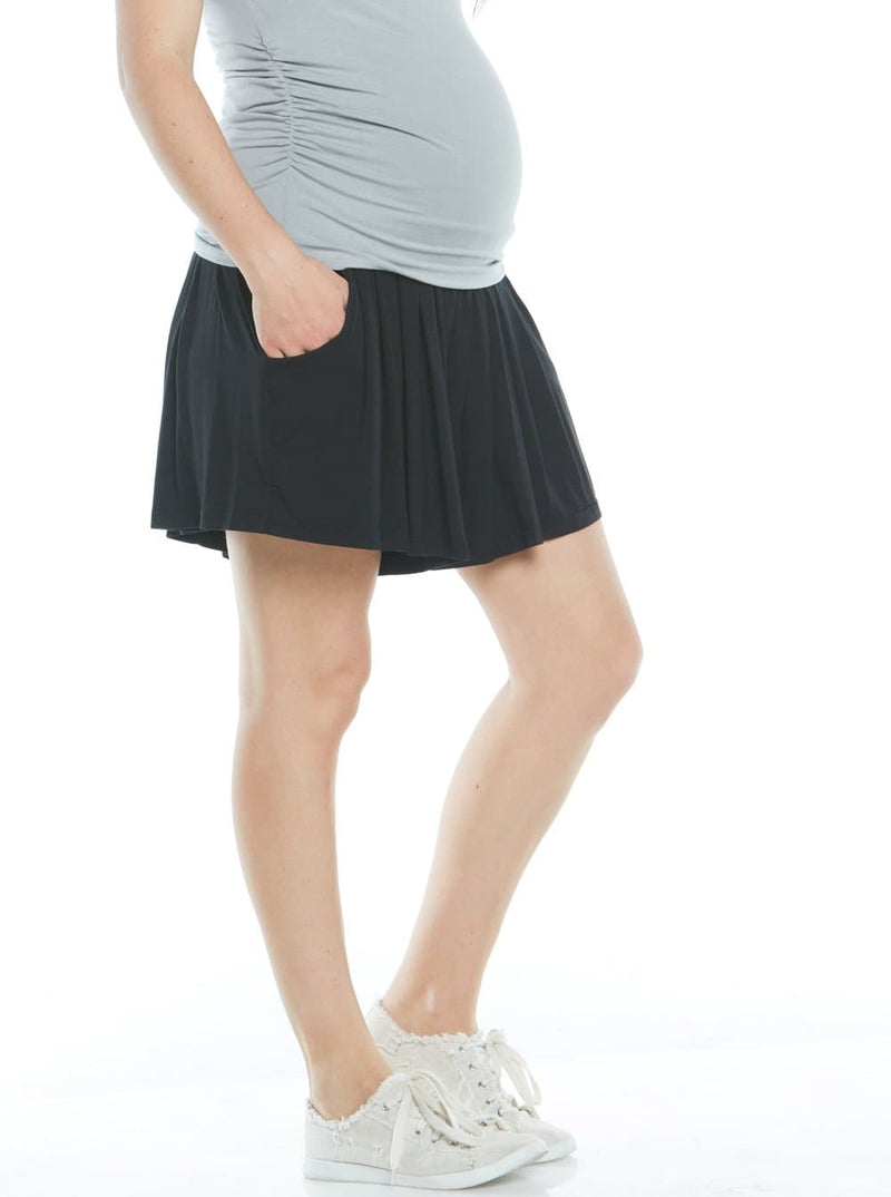 maternity stretchy shorts