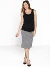 Maternity reversible skirts