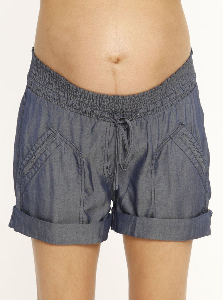 comfortable maternity shorts