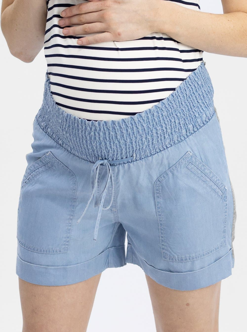 Maternity Tencel Summer Shorts