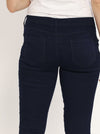 Maternity Comfortable Stretch Slim Jeans in Navy mummy jeans