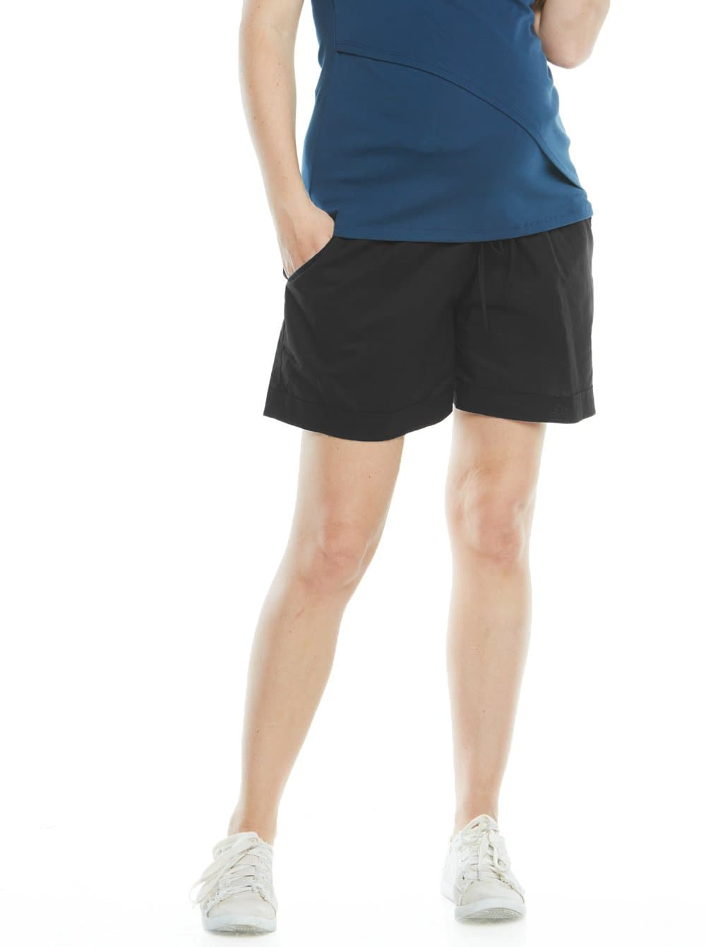 Maternity Relax Fit Light Weight Summer Shorts