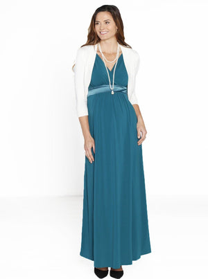Maternity Evening Party Dress & Bolero Outfit - Angel Maternity - Maternity clothes - shop online