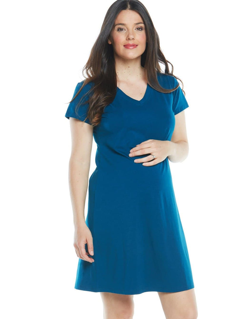 Maternity Casual Cotton T-Shirt Dress