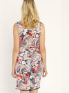 Maternity Reversible Dress in Navy Floral Abstract - Angel Maternity - Maternity clothes - shop online