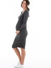 maternity winter dress