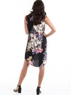 Maternity Bella Sleeveless Dress - Black Floral