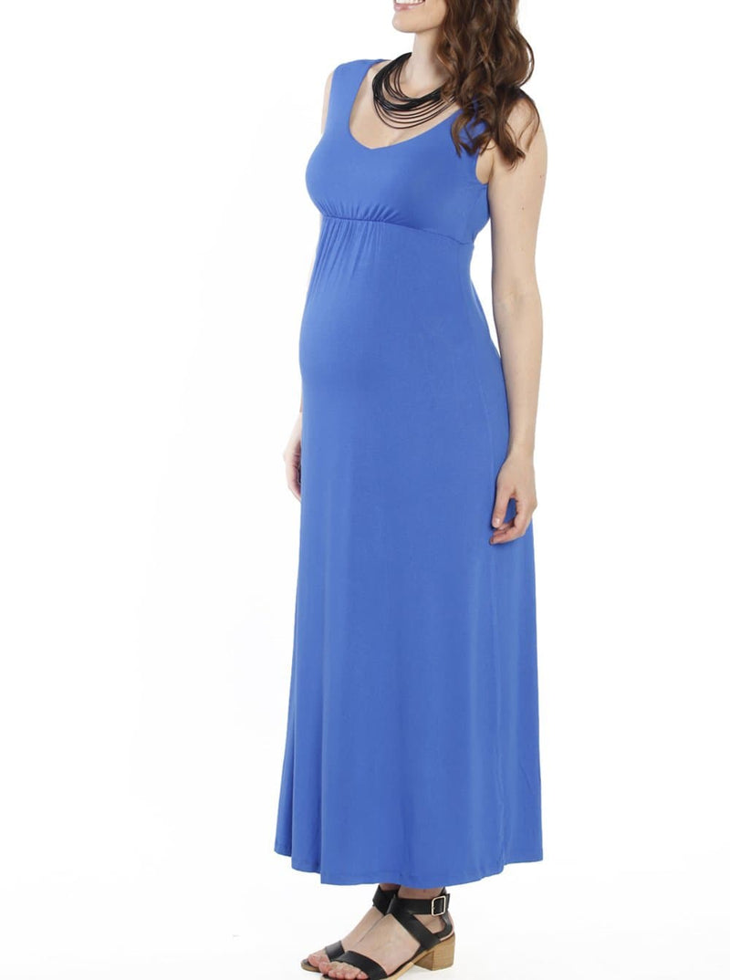 Maternity Ultimate Comfortable Maxi Dress - Blue