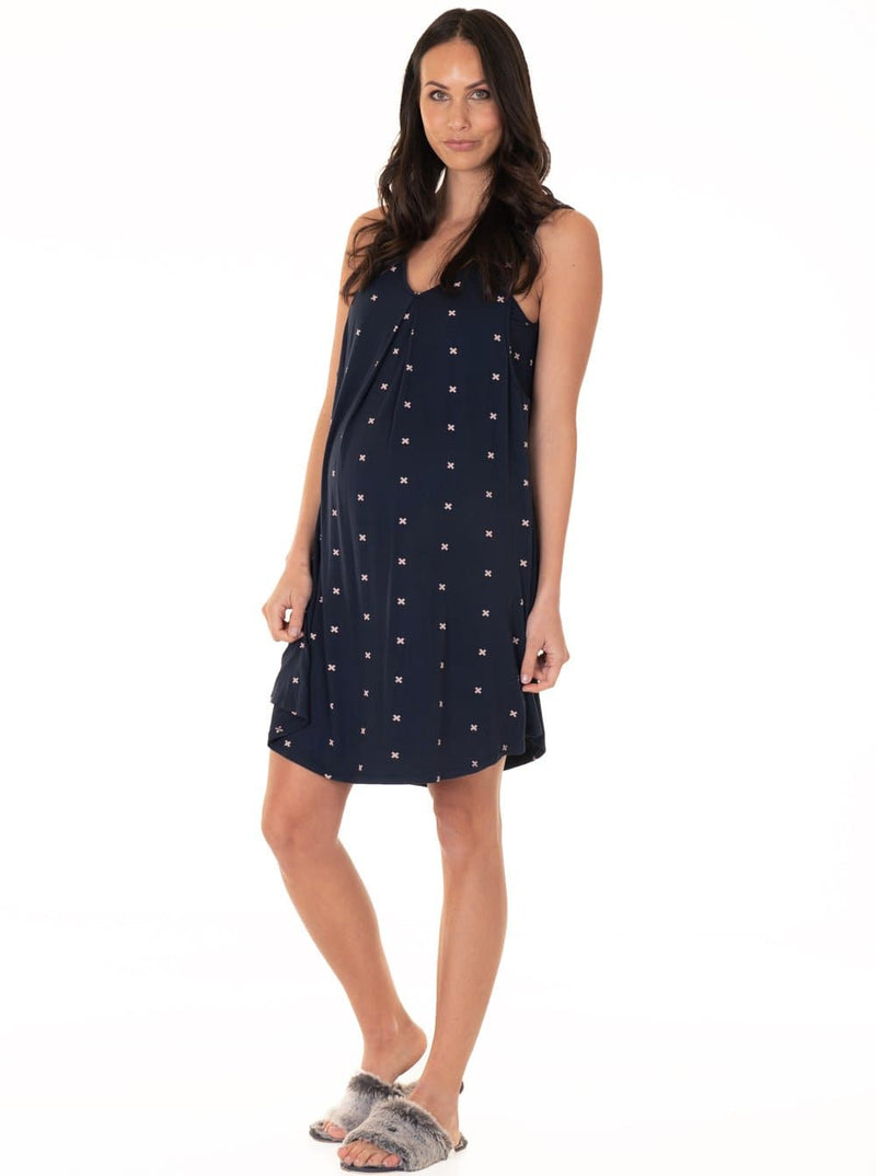 maternity lounge dress