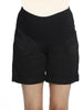 Cotton Maternity Summer Shorts in Black maternity short Sydney store