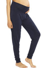 "Ruby Joy ""The Best Seller"" Bamboo Pants - Navy maternity comfortable pants"