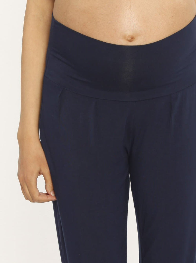 "Ruby Joy ""The Best Seller"" Bamboo Pants - Navy online store maternity"