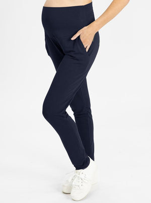 Copy of High Waist Pants in Navy MAIN