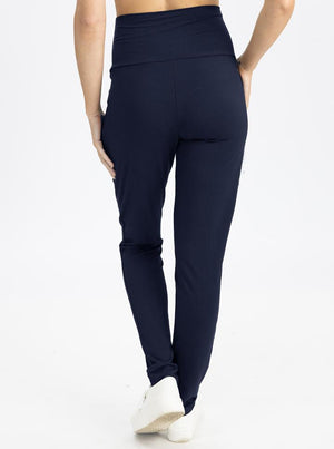 Copy of High Waist Pants in Navy back