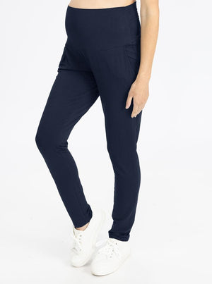Copy of High Waist Pants in Navy side