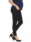 Maternity Fitted Work Pants in Black pregnancy pants