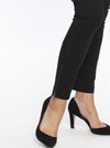 Maternity Fitted Work Pants in Black