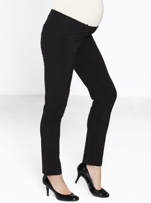 Maternity classic cut work office pants