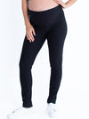 Maternity Slim Cut Twill High Waist Pants