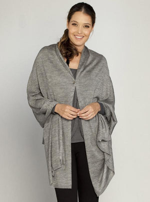 Nursing Angel Versatile Wrap - Taupe/ Grey/  White - Angel Maternity - Maternity clothes - shop online
