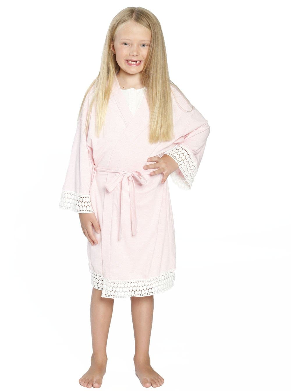 Ruby Joy Daughter Robe - Light Pink