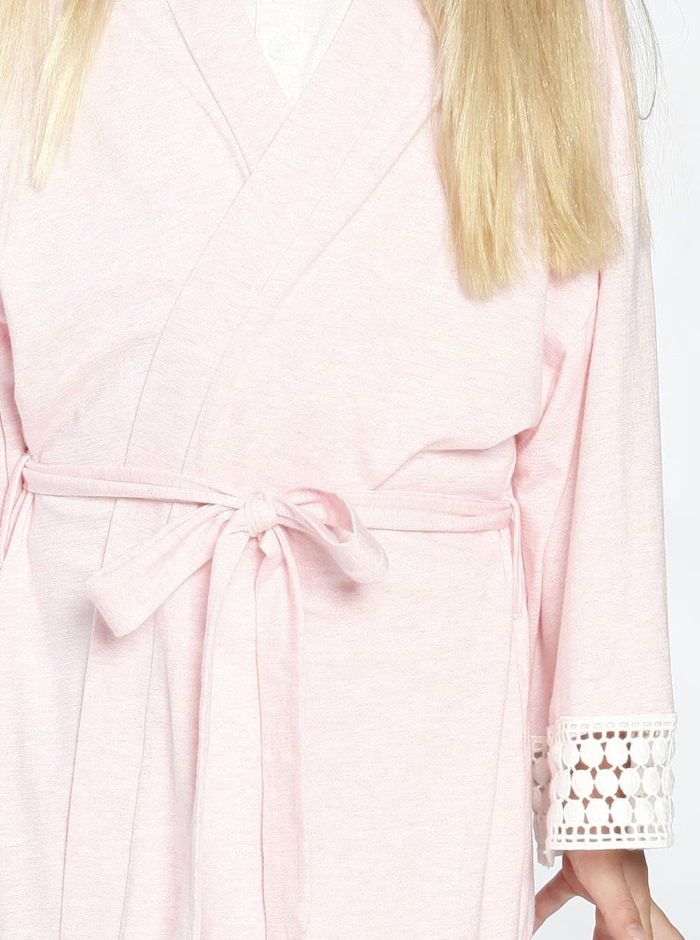 Ruby Joy Daughter Robe - Light Pink details