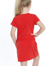 TDD - The Daughter Drawstring Dress - Chili Red - Angel Maternity - Maternity clothes - shop online