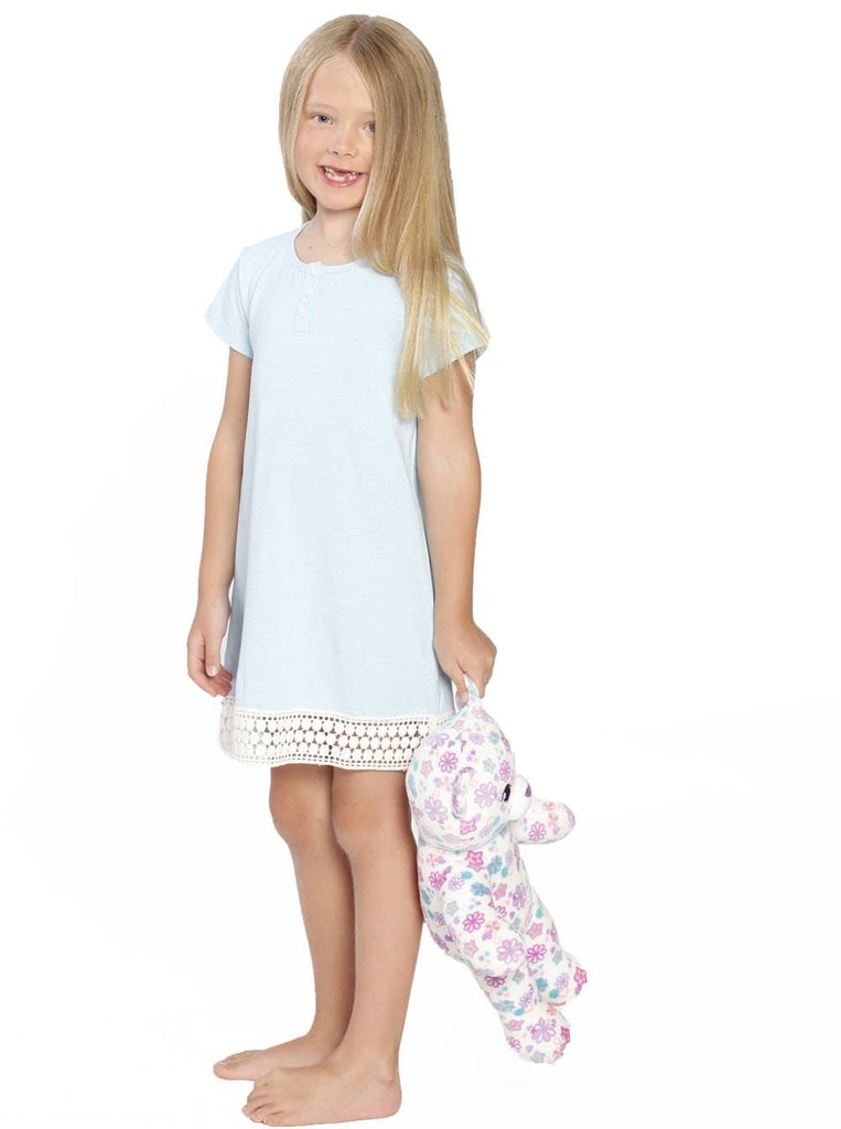 Ruby Joy Daughter Sleep Dress - Light Blue