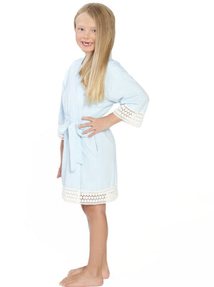 Ruby Joy Daughter Robe - Light Blue