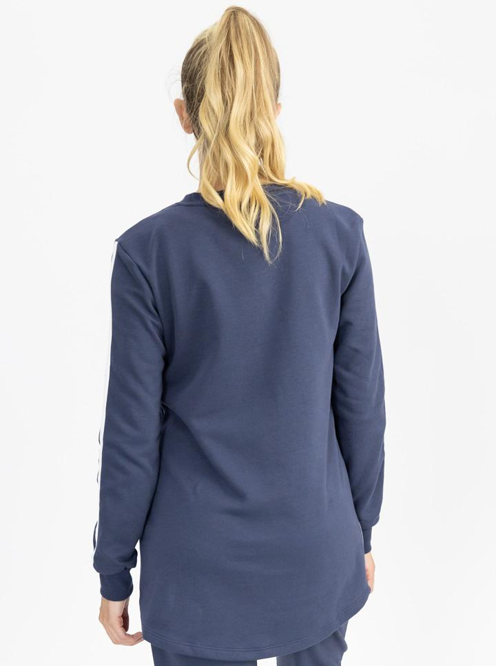 Maternity Tracksuit Top in Navy