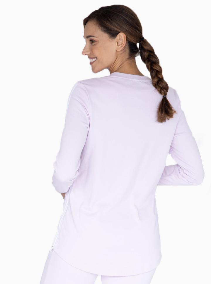 Tracksuit Top in Lilac