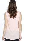Breastfeeding Layered Chiffon Nursing Top - Soft Pink - Angel Maternity - Maternity clothes - shop online