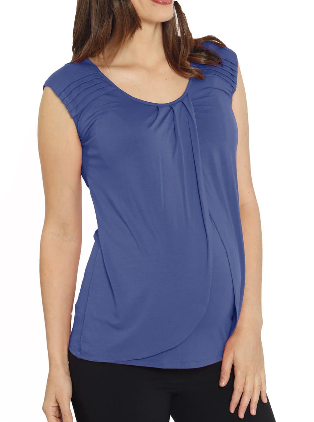 easy opening nursing top for summer