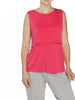 Nursing Sleeveless Pull Up Top in Pink